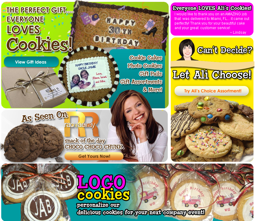 Cookie Cake Gift Photo Cookies